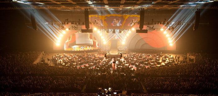 3D видеомаппинг  на премии «Муз-ТВ»
