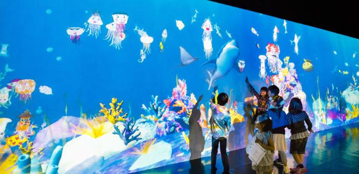 Интерактивная детская комната Sketch Aquarium